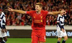 Photos: Reds triumph Down Under - Liverpool FC Liverpool Fc, Liverpool Football Club, Football Team, Football Humor, Stevie G, Steven Gerrard, Captain Fantastic, Premier League Champions, You'll Never Walk Alone