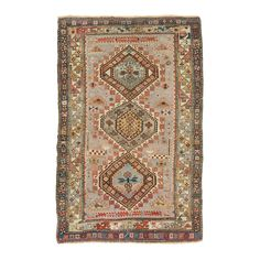 Antique Caucasian Wool Rug @abccarpet