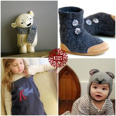 upcycle wool boots