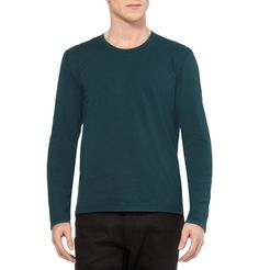 Maison Martin Margiela Long-Sleeved Cotton T-Shirt / MR Porter. 163 $ + 30 shipping.