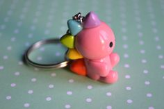 Kawaii Rainbow Dino Dinosaur Animal Charm by CheekyCharmz on Etsy, $6.00