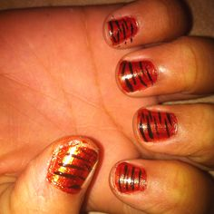 Tiger Stripes (My niece's request)