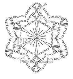 Latest Free of Charge Crochet coasters elegant Suggestions null Crochet Diagram, Crochet Motif, Crochet Doilies, Crochet Flowers, Crochet Stitches, Crochet Hooks, Free Crochet, Knit Crochet, Crochet Snowflake Pattern