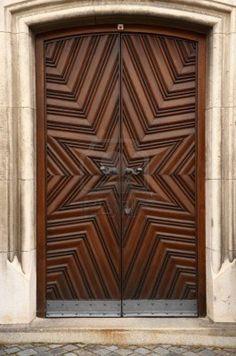 Historic wooden doors