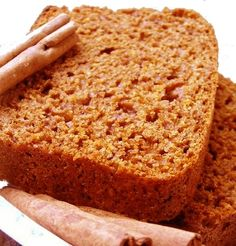 Tender and light gingerbread recipe: the easy recipe Parfait Desserts, Easy Desserts, Bread Recipes, Cake Recipes, Cooking Recipes, Scones, Desserts With Biscuits, Pan Dulce, Healthy Breakfast Recipes