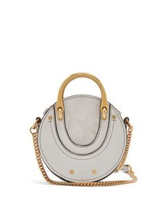 Pixie mini leather and suede cross-body bag | Chloé | MATCHESFASHION.COM