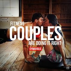 Fitness couples are doing it RIGHT ! Does you boyfriend / girlfriend even lift ? http://www.gymaholic.co