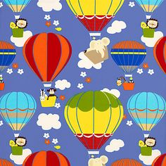 Buy Flying High Fabric, Cobalt online at JohnLewis.com - John Lewis
