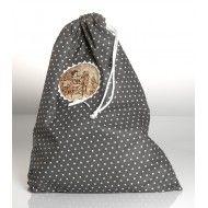 Ce très grand sac en coton pourra contenir les jouets de vos enfants ou servira de sac de rangement.