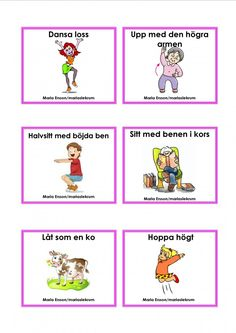 Simon says Mariaslekrum Solar System Projects For Kids, Sign Language Book, Learn Swedish, Swedish Language, Gym Classes, Work Activities, Preschool Classroom, Kids Corner, Pre School