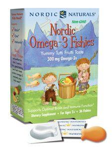 Nordic Naturals- Nordic Omega-3 Fishies 36 Fishies