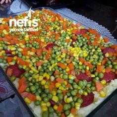 Anında Biten Tepside Kumpir Salsa, Brunch, Food And Drink, Pizza, Vegetables, Ethnic Recipes, Handmade, Hand Made, Vegetable Recipes