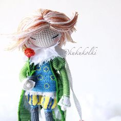 KukukolkiMoscow-based Kukukolki has beautiful exotic crochet dolls. First link takes you to her Instagram, and here's her website. Amazing right??