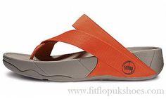 Best Womens Fitflop Sling Flat Orange Sandals