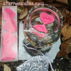 Open The Heart Chakra – Phoenix Floating Candle Line – Cherry Blossom    $29.77