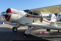 Beech D17S aircraft picture