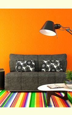 all about of color livingroom