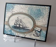 World Map meets Open Sea  How to from Flowerbug's Inkspot