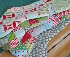 Stocking tutorial christma stock, stock tutori, quilted stockings ...