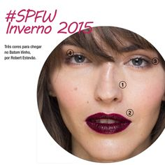 Três cores para chegar no Batom Vinho da maquiagem TNG na SPFW, por Robert Estevão... http://www.veridicait.com.br/sao-paulo-fashion-week/tres-cores-para-chegar-batom-vinho-da-maquiagem-tng-na-spfw/  #batom #spfwinverno2015 #maquiagem #spfw