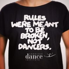 #dance #dancers #americandanceinstitute #branding #tshirts #design #typography
