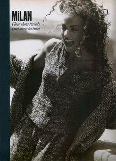 Elle (UK) October 1988 | Paris Milan 05
