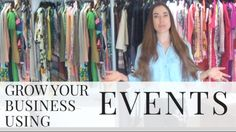 How to grow a small business: using events