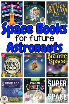 Did you know that today is National Astronaut Day? One thing that my future astronaut wanted to learn all about this school year was space. As a part of our space unit, we are reading a lot of fiction and non-fiction books about everything from constellations to to the outer planets to famous astronauts. Here are over 50 Space Books for kids to read when learning about space! #spacebooks #booksforkids #spacebooksforkids #nonfictionbooksforkids #learningthoughbooks