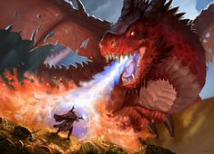 Dragons Den, Cool Dragons, Types Of Fiction, Legendary Dragons, Dragon Pictures, Fire Dragon, Fantasy Creatures, Fantasy Characters, Dungeons And Dragons
