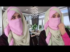 Classic Niqab Hijab tutorial/Easy Niqab tutorial/Summer special Niqab/Full coverage Niqab tutorial - YouTube Summer Special, Hijab Tutorial, Niqab, Hijab Fashion, Abs, Stylish, Classic, Youtube, Derby