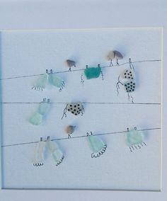 Beach Glass art With Resin - - Glass art Design Perfume Bottles - Broken Glass art Vintage Jewelry Broken Glass Art, Shattered Glass, Sea Glass Art, Stained Glass Art, Seashell Crafts, Beach Crafts, Glass Art Design, Crushed Glass, Mosaic Designs