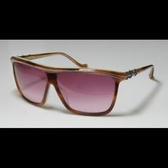 9718becc9 Chrome Hearts Pussy Willow Sunglasses Like New, lightly used. Caramel Brown  frames, Rose