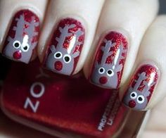 Raindeer Nails