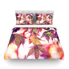"""Sylvia Cook """"On Fire"""" Cotton Duvet Cover from KESS InHouse"""