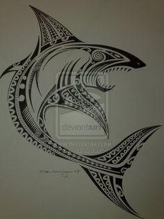 Hawaiian Tribal Tattoos Symbol Meanings Tribal Shark Tattoos