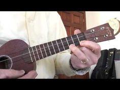 C blues on ukulele with simple riff- Tutorial - YouTube