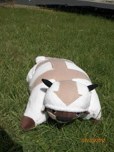 Appa Pillow Pet...instructions to make! | and ong so wierd that date is my bday! (Not the 2012 part, but wierd!)