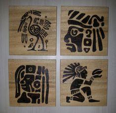 #woodburning#ahşapyakma#mayasymbols#mayasembolleri