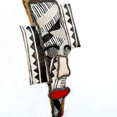 Cute Penguins, African Masks, Textiles, Hand Painted, Banana, Collection, Bananas, Fanny Pack, Textile Art
