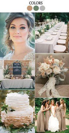 Dried Herb: Pantones 2015 Fall Wedding Color Inspiration from B&E Lucky in Love Wedding Blog #driedherb #weddingplanning #weddingcolors