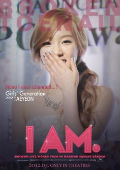 SNSD Taeyeon;fanmade I.AM Poster