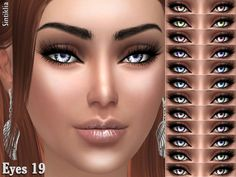 Lana CC Finds - sintiklia:   Oval nails for Sims 4   24 glossy...