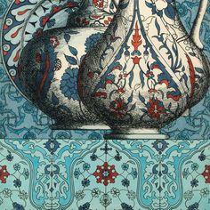 Ceramiche (Ceramics), colored panel made for the Hilton Hotel in Instambul, 1950s. (detail) Fornasetti * Real Pattern * The Inner Interiorista