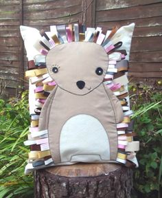 Emily the Hedgehog Cushion. £25.00, via Etsy.