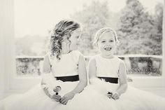 We love this for flower girls...too adorable
