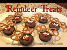 Reindeer Treats (from Confessions of a Homeschooler)