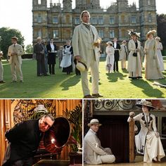 Downton Abbey Photos From Set