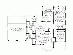 english cottage floor plan