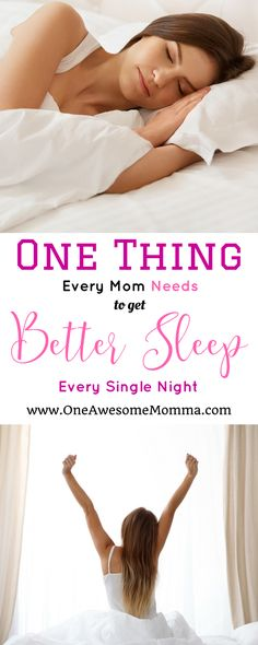 [ad] Sleep is a necessity that not everyone gets to have enough of, especially moms. With some known factors to consider to help you get the best sleep every single night, here's the only thing you will need to get better sleep night after night. Sleep Help, Good Sleep, Sleep Better, Parenting Memes, Parenting Advice, How To Get Better, Better Life, Every Mom Needs, Sleep Issues