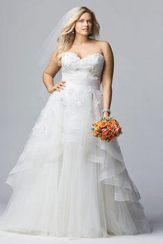 Nice  Gorgeous Plus Size Wedding Dresses